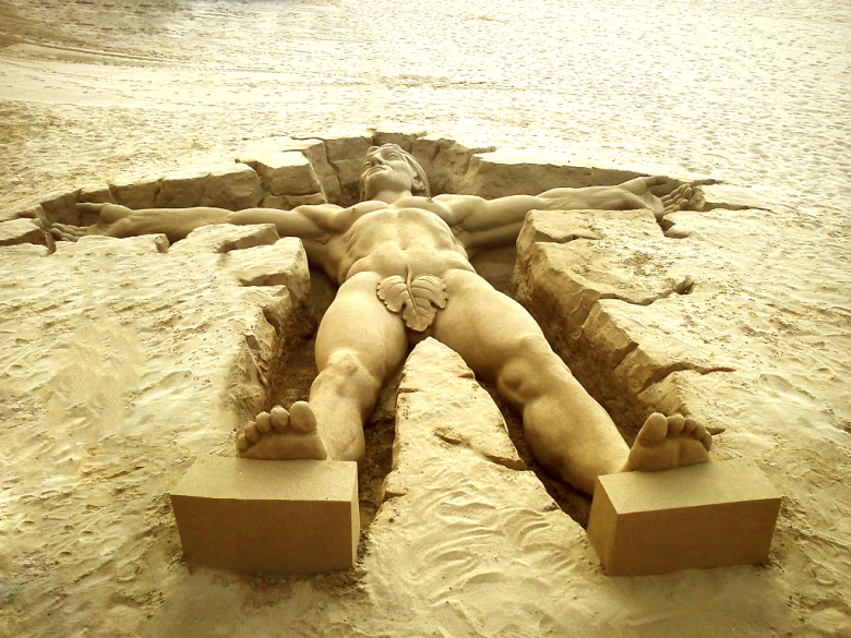 Sand In Your Eyes | World class sand sculpture ...