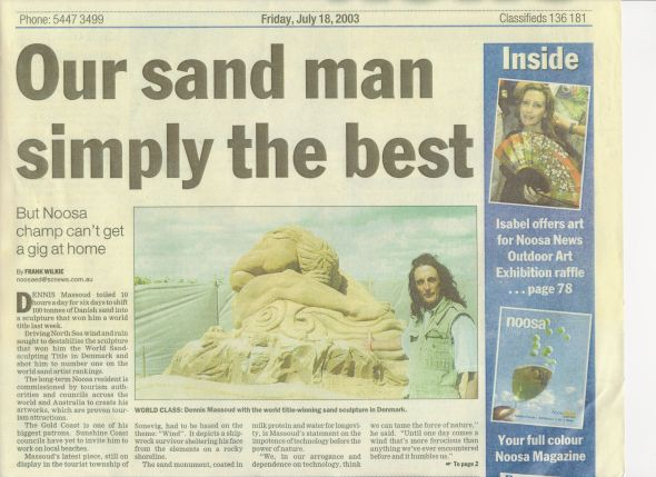 our sand man simply the best